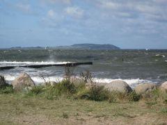 Ostsee mit Blick auf Hiddensee