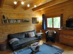 Wohnzimmer Ferienhaus Woody